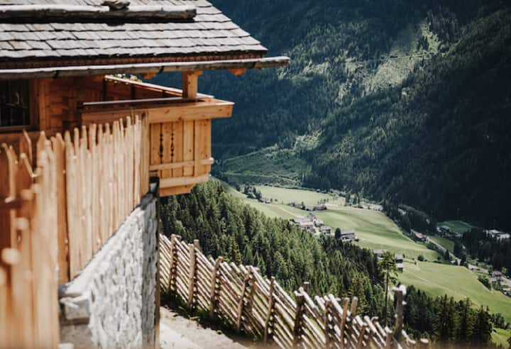 "Comfortable Wooden Holiday Home ""Chalet Reisnock-Hochgruberhof"" in Idyllic Mountain Location with Own Sauna, Garden, Balcony, Mountain View, Wi-Fi & TV; Parking Available"