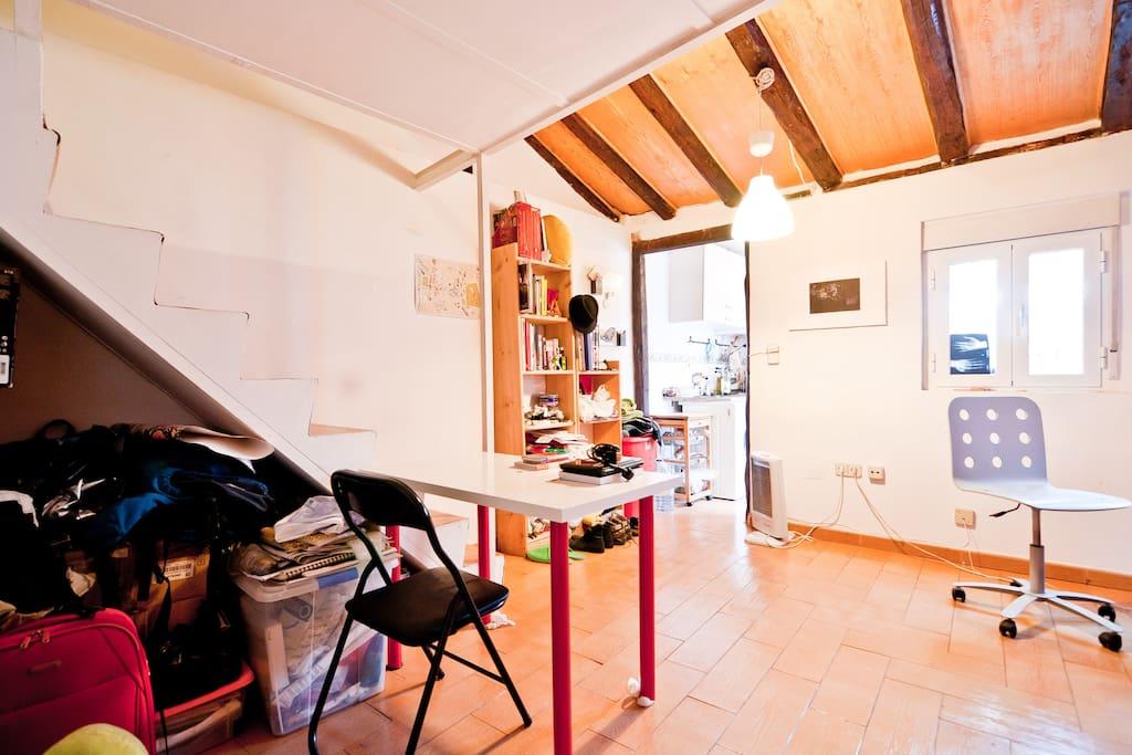Loft bohemio en el coraz n d madrid lofts en alquiler en - Lofts en madrid ...