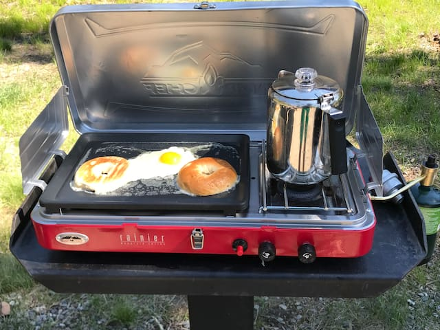 Grill included!