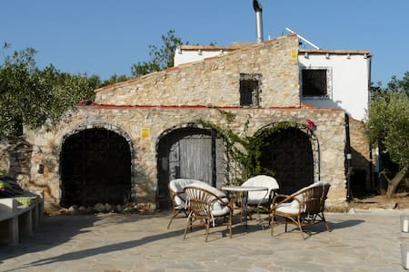 Rustic house with complete privacy. - Tortosa - Haus