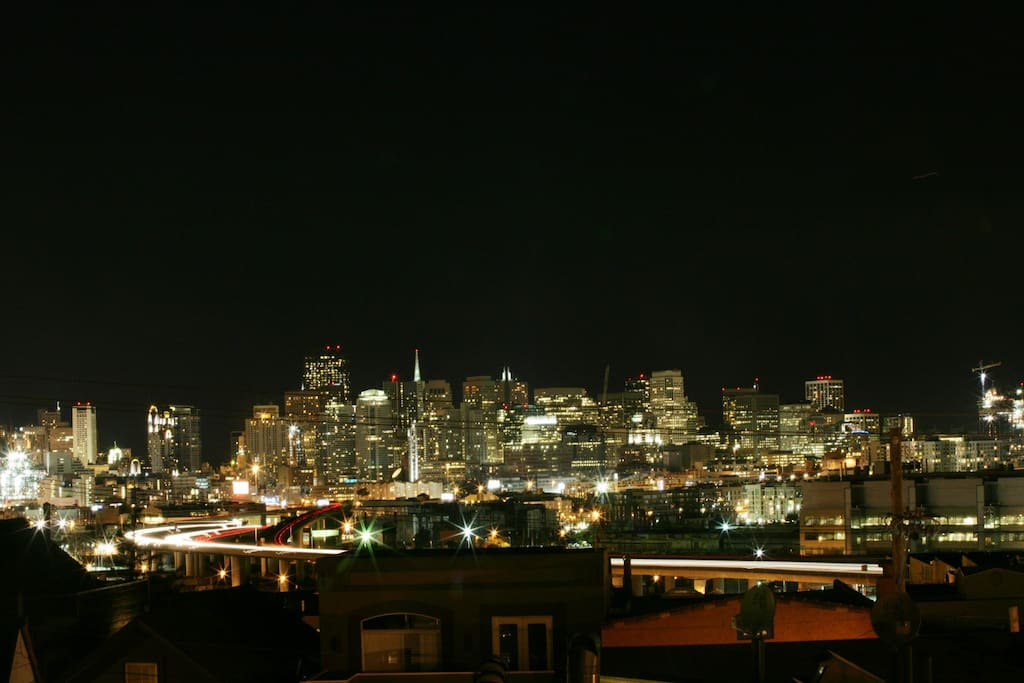 Night View from unit.