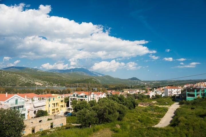 Agatha's apartment with great Argostoli view.