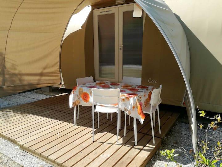 Tenda Coco Sweet 2 - Glamping a Marina di Massa