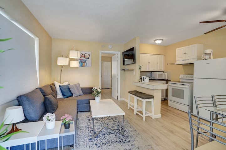 Sunscape Fort Lauderdale ☀︎ 1BR minutes to beach|1