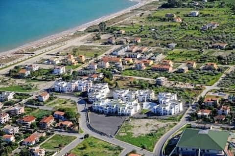 Beautiful large coastal apartment on Ionian Sea