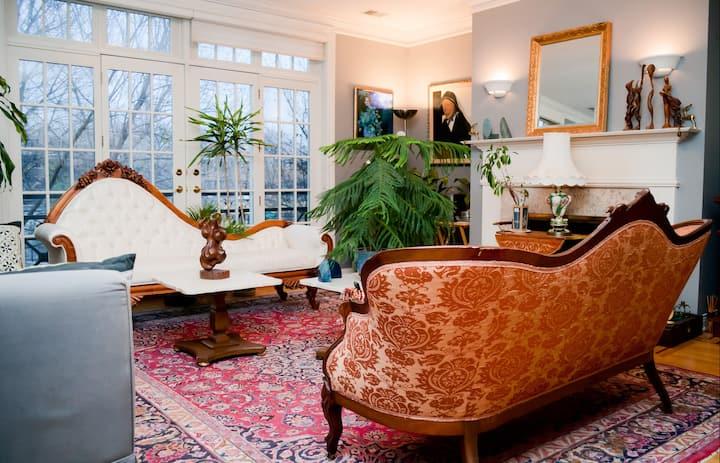 Italian style in elegant apartment