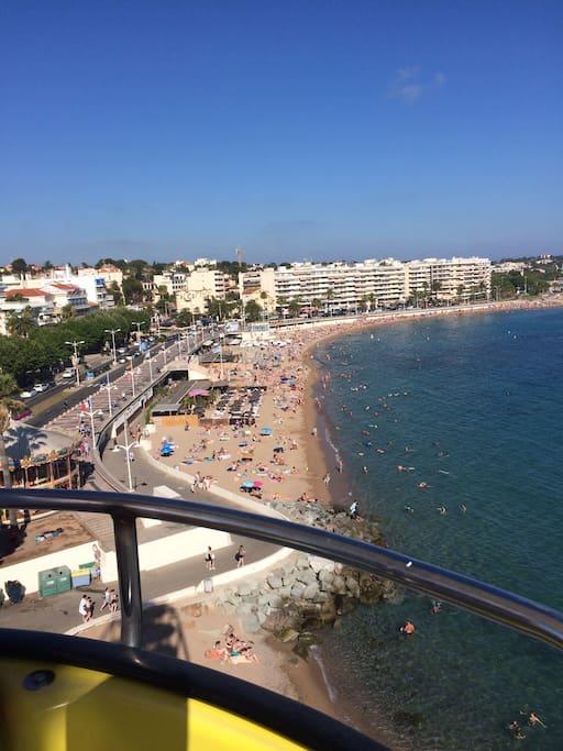 Stranden i St.Raphael
