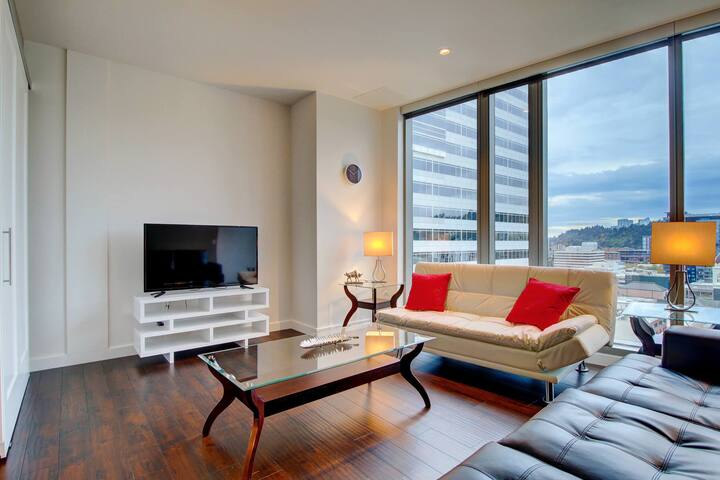Modern 2 Bedroom Suites In Downtown Portland Apartments For Rent In Portland Oregon United