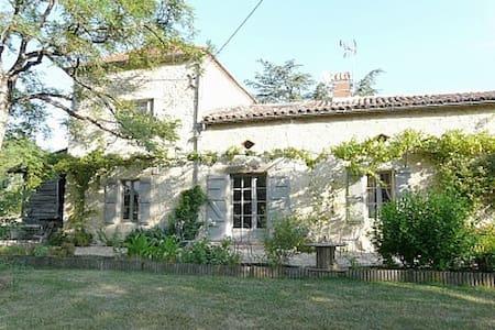 Ancien chais rénové sur un hectare dominant les Pyrénées - Lectoure - Villa
