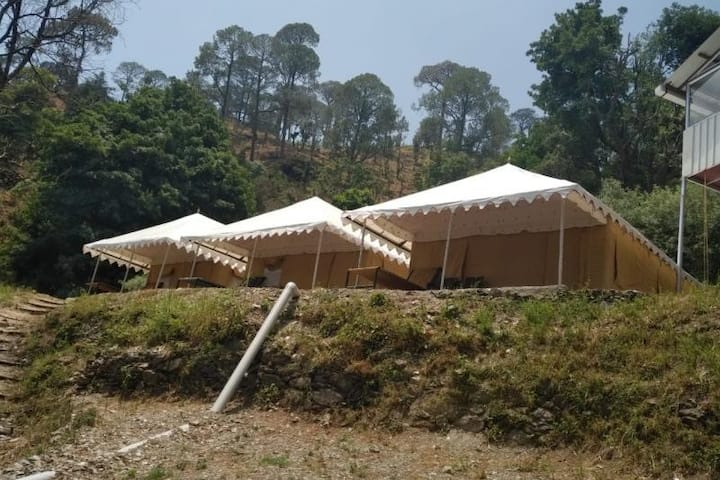 Swiss Cottage Tent for 6 @ The Cocoon