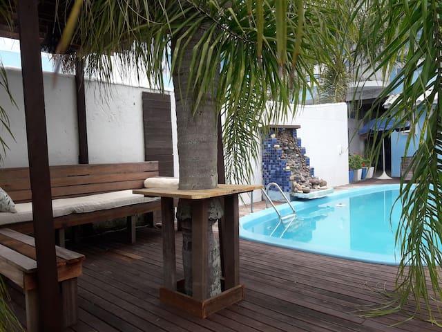 Casa com piscina praia dos Ingleses