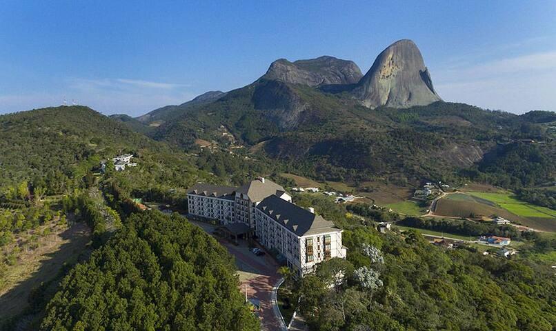 Apartamento no Hotel Bristol Vista Azul