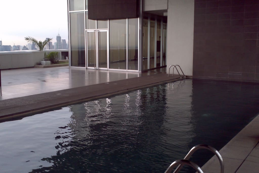 Swimming pool on Penthouse floor