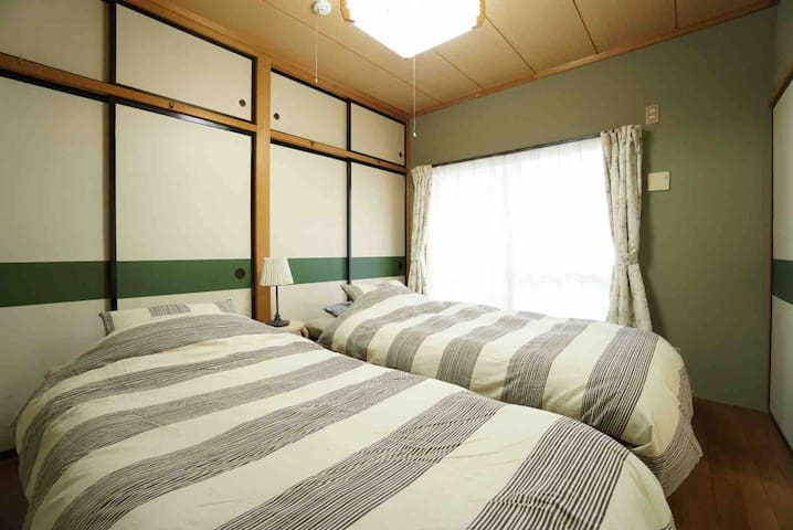 Maebashi st Mark's monthly apartment/Wifi/Max4