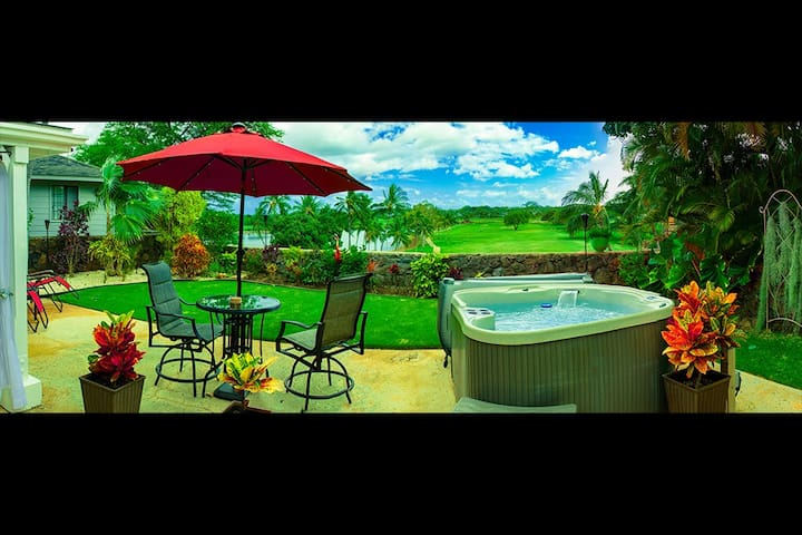 Private room overlooking golf course - Ewa Beach - Rumah