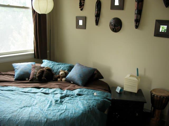 Bedroom- circle bed