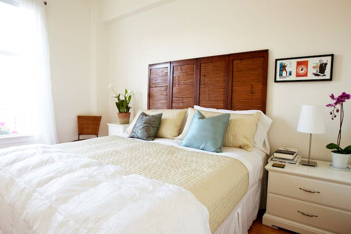 King Bed in second bedroom