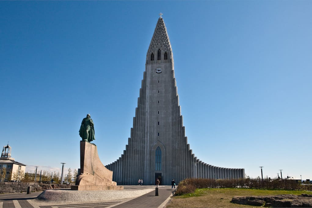 hallgrimskirkja nearby