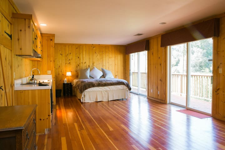 Kiwi Room @ The Orchard Lodge - Glen Ellen - Bed & Breakfast