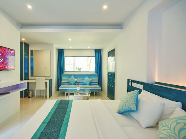 Seaview Family Room - Near Airport - Malé - Appartement