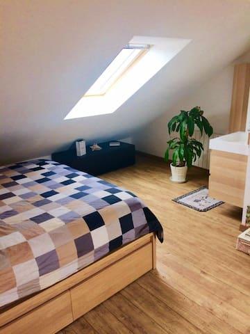 Appartement sous comble moderne et chaleureux - Tours - Apartament