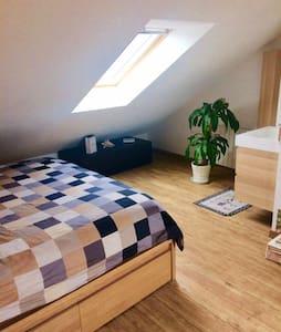 Appartement sous comble moderne et chaleureux - 图尔 - 公寓