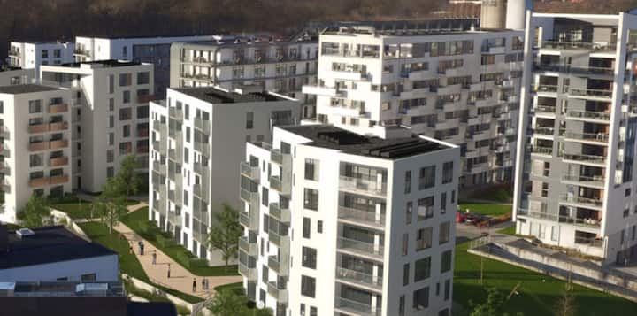 Modern bright two bedroom apartment located in the city center