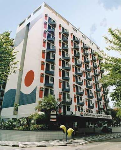 Flat - São Vicente - Aparthotel