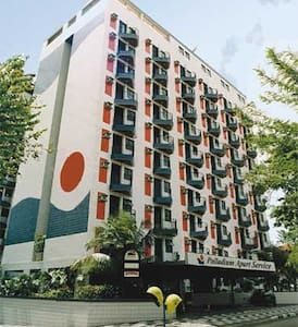 Flat - São Vicente - Obsługiwany apartament