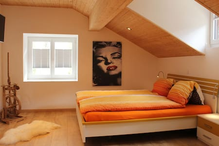 Beautiful new attic apartment for 2 persons