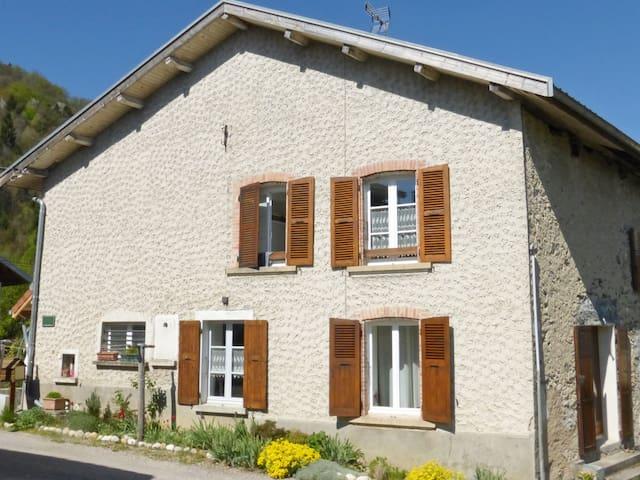 Maison moderne et conviviale en Chartreuse