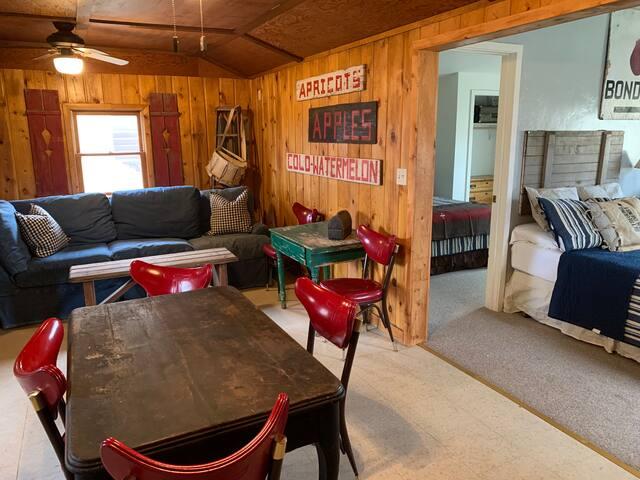 Rustic cabin at the base of Grand Mesa Cabin #4