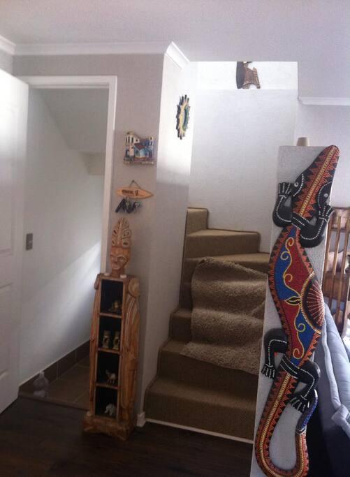 acceso segundo piso