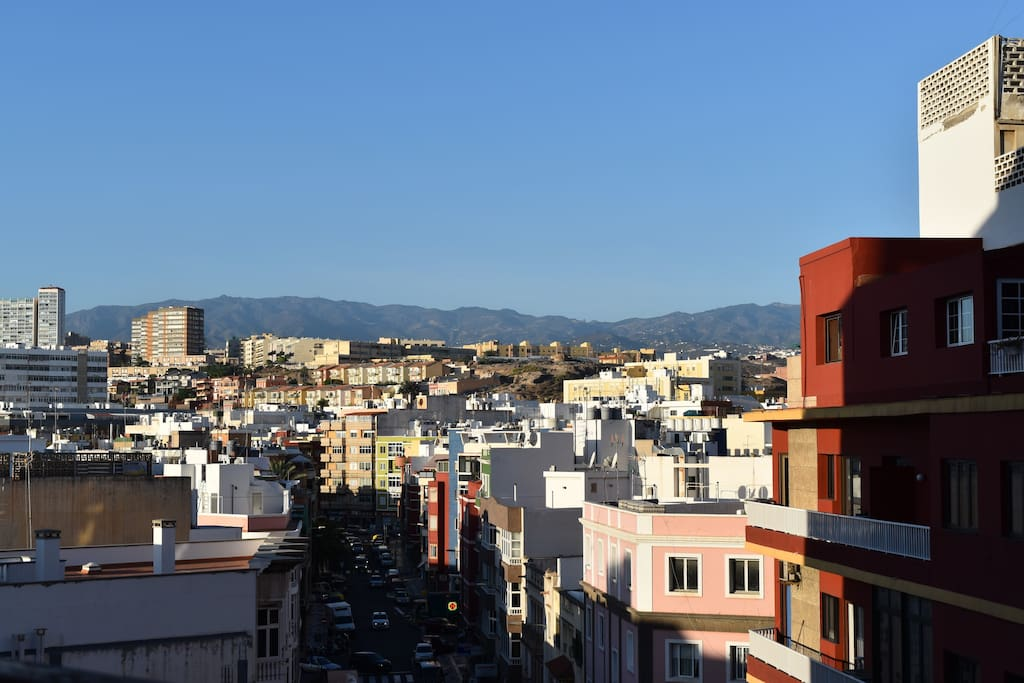 Vista desde la terraza.