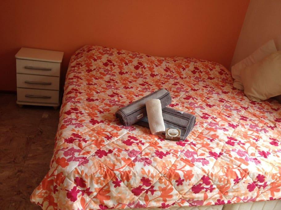"""Sua cama e demais """"mimos""""..."""