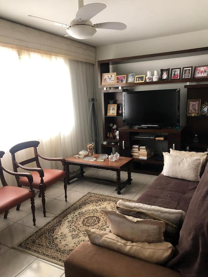 Casa 200m da Praia | Hostel - Quarto Compart. BC