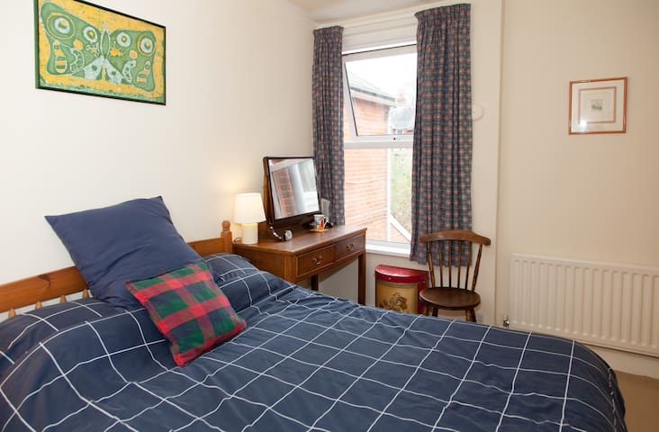 Double room, in a family home.