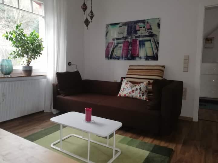 Helle Wohnung in einem Reihenhaus für 4 Personen