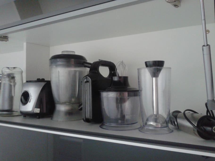 Acessórios de cozinha.