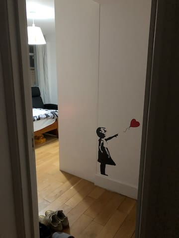 Entrance to your room
