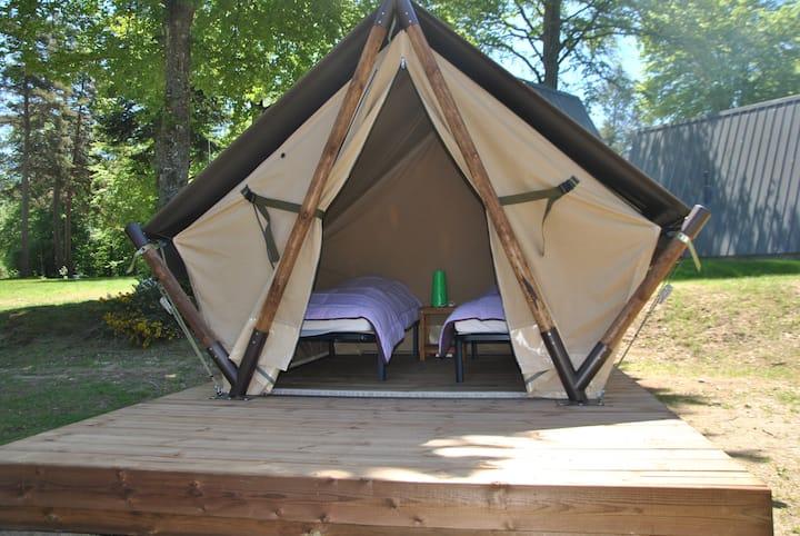 Tente Nomade Camping Les Murmures du Lignon