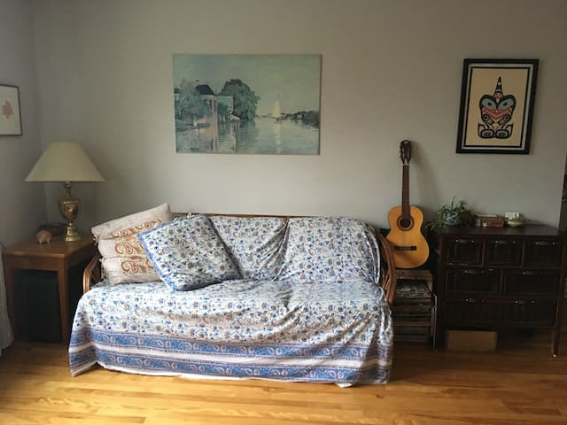 Funky cozy 1 bedroom apartment in South End