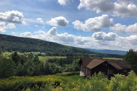 Catskill Cabin Retreat on 31 Extraordinary Acres