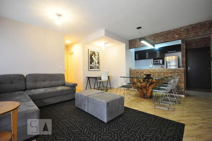 Apartamento aconchegante em bairro de fácil acesso - São Paulo - Huoneisto