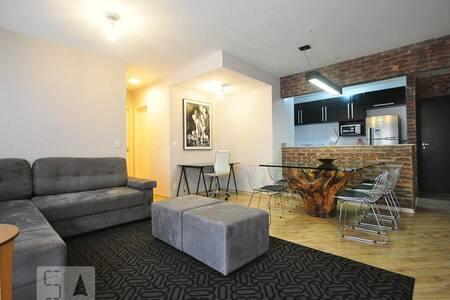 Apartamento aconchegante em bairro de fácil acesso - เซาเปาโล - อพาร์ทเมนท์