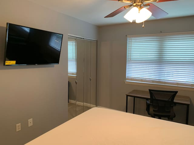 Lovely room in a cozy, quiet home. All new & ready