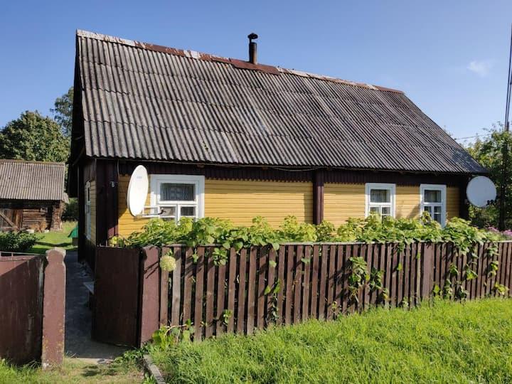 Простой дом в центре Вилейки