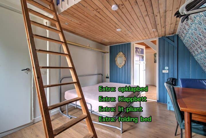 Droomkamer met opklapbed omlaag