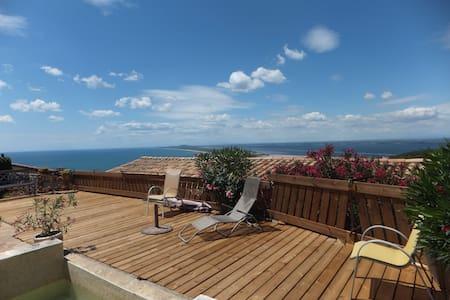 Chambre dans villa  vue sur la mer, quartier calme - Sète