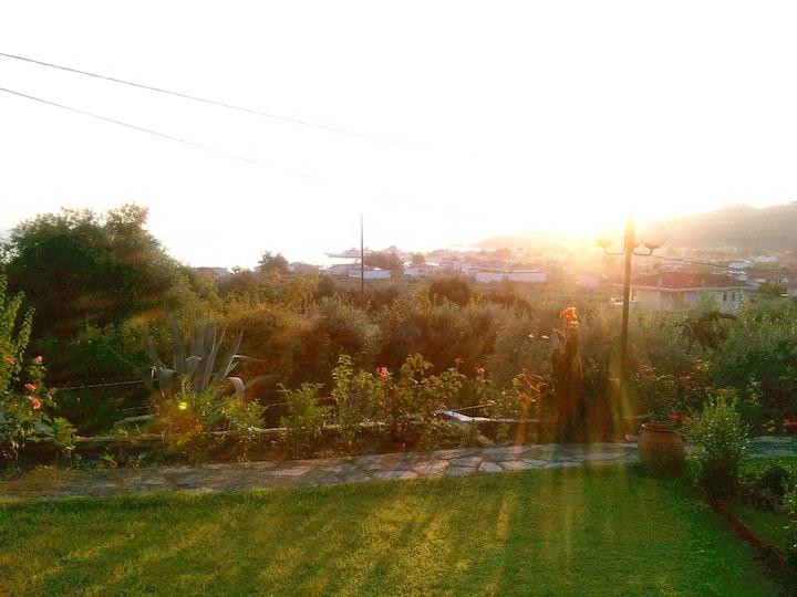 Thassos,Limenas, sea view villa&garden-00000242742